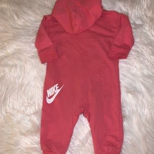 Nike One Pieces - Nike French Terry Girls Coverall 9M